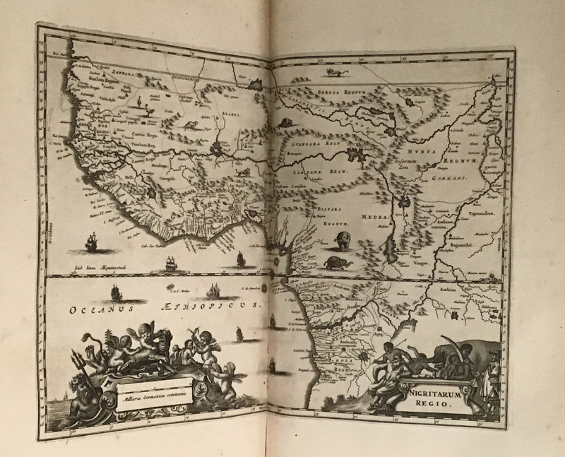Africa : being an accurate description of the regions of Ægypt, Barbary, Libyia, and Billendulgerid, the land of Negroes, Guinee, Æthiopia, and the Abyssines; with all the adjacent islands ...