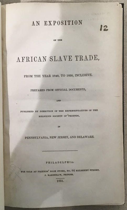 An Exposition of the African Slave Trade