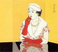 Woman in Western Dress