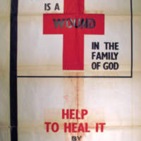 """War is a wound in the family of God. Help to heal it by thought, word, and deed."""