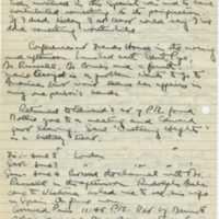 John Rich. Diary Entry
