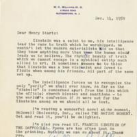 Letter to Henry Sturtz