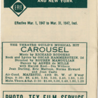 Official Timetable - Rutherford/Carlton Hill and New York